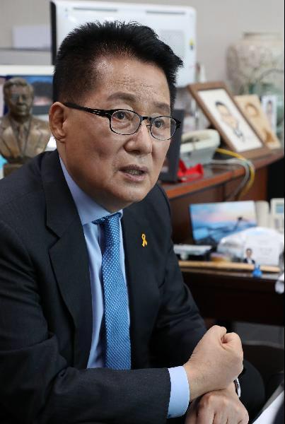 民主与和平党前议员朴智元(朝鲜日报)