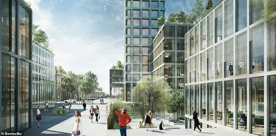 丹麦将建西欧第一高楼_金主是中国人的老熟人?