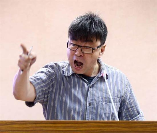 """民进党""""立委""""段宜康 图自""""中时电子报"""""""