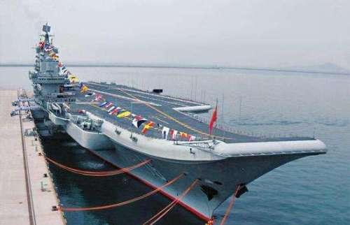 ▲ 辽宁舰服役后的坞修是2014年5月,距离其交付海军已经过去一年多了