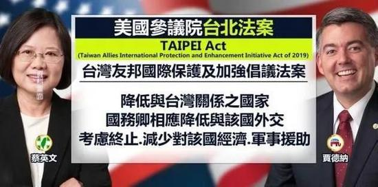 """疫情肆虐全球 美国居然又打起了""""台湾牌""""图片"""