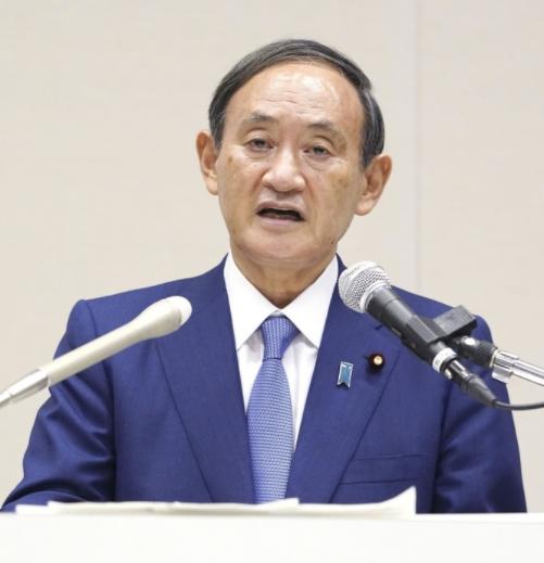 日本众议院指名菅义伟为新任首相
