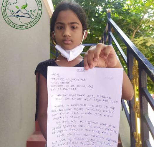 印度女子死于新冠后手机丢失 9岁女儿发公开信求助