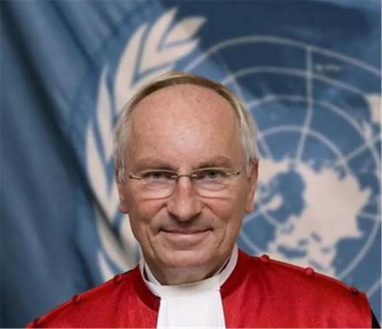 ▲德国法官克里斯托夫·吕格