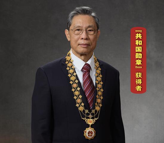 钟南山再获大奖 奖金100万港元图片