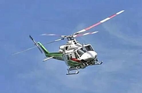 """""""Bell model 412""""型直升飞机"""