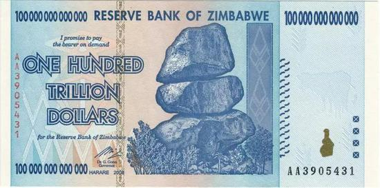 图片来源:津巴布韦储备银行 (public domain)