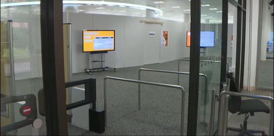 图书馆仅开放4层和5层