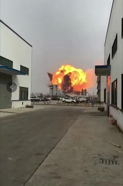 江苏天嘉宜化工厂发生苯爆炸