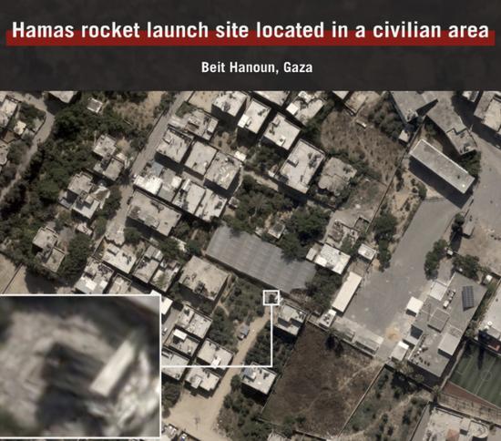 以军:哈马斯故意将其军事设施隐藏在居民区