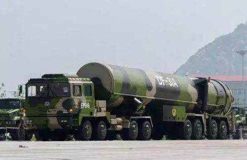 """中国""""东风-31A"""""""