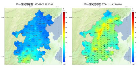 京津冀及周边地区14到17日将再次出现污染过程图片
