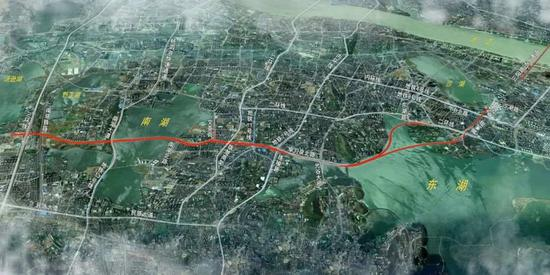 全长19公里!武汉开建世界规模最大的城市湖底隧道图片
