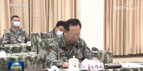 《新闻联播》披露 在安徽作汇报的将军都是谁?