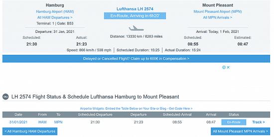 连续飞行15小时,汉莎航空执飞其史上最长航班