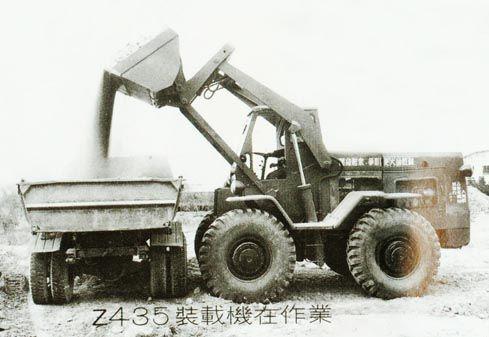柳工研制乐成中国第一台Z435装载机(资料图片,柳工团体提供)