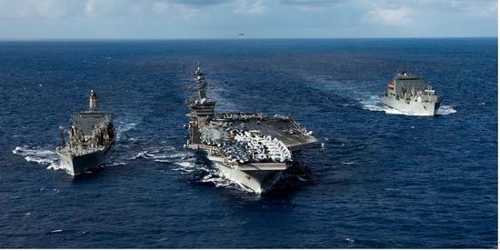 美国海军卡尔·文森号航母