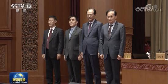 人民日报社、新华社原社长的新职务图片