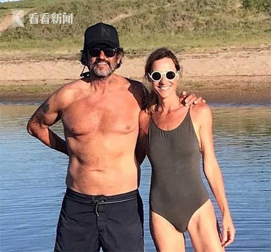 费德里科和他的超模妻子