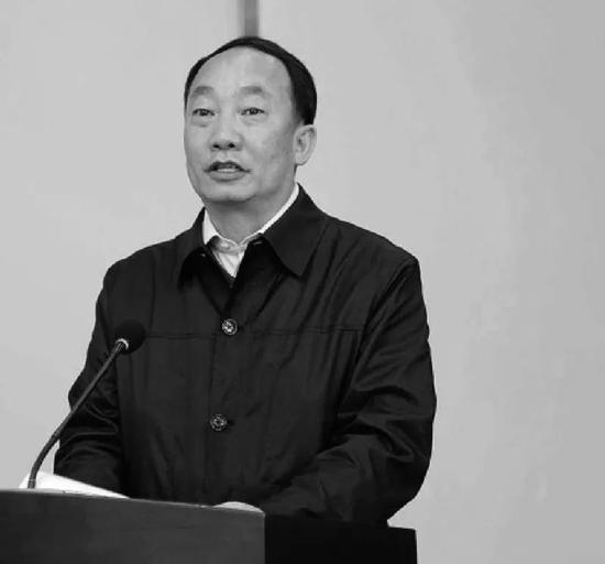 西南林业大学原校长蒋兆岗。
