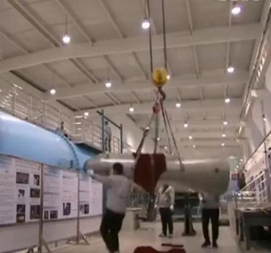 此次新闻报道中展示的一个高超声速风洞测试部件