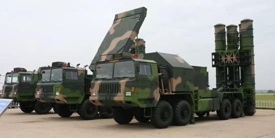 中国红旗-9防空导弹系统