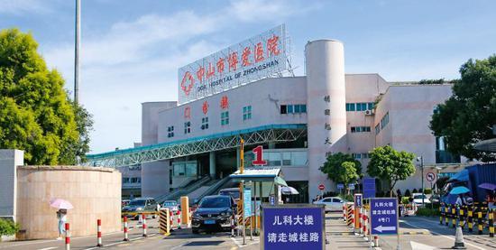 中山市博爱医院。图/视觉中国