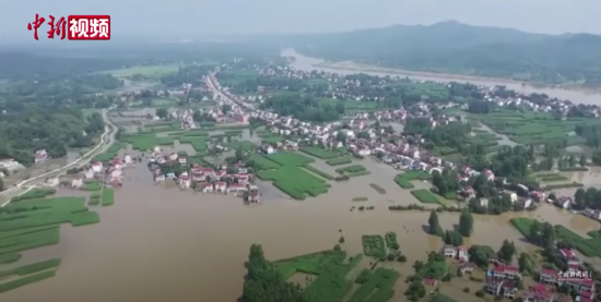 长江淮河同时来袭,35条河湖超警戒,安徽水患为何很严重?图片