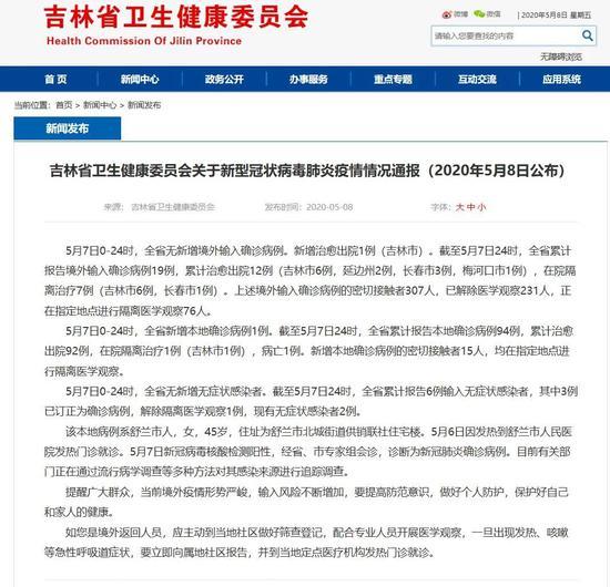 高德招商:吉林省新增本地确诊高德招商病例图片