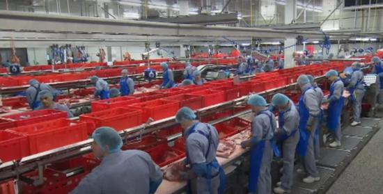 德国肉类加工业目前主要通过中介公司从东欧等地区雇用廉价劳动力。