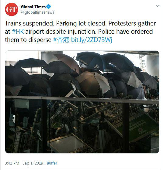via Twitter @globaltimesnews
