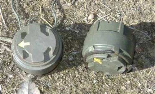 """(图说:""""M14""""对人地雷 图源:《中央日报》)"""