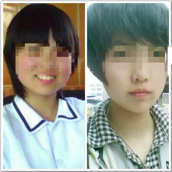 王婷婷中学时期的照片。图片来自网络