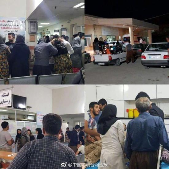 伊朗发生6.1级地震 已造成1人死亡58人受伤