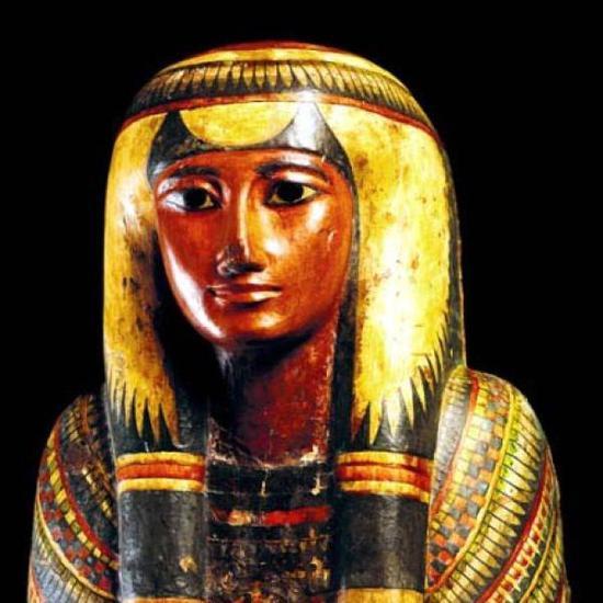 火灾前的巴西国家博物馆展出埃及文物