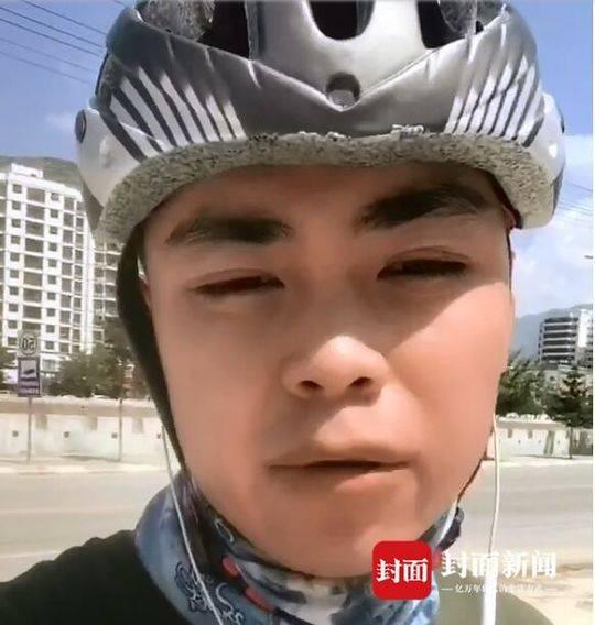 """""""准大学生""""骑行951公里入学:虽千万里吾往矣"""