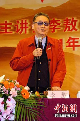 资料图:已故台湾著名作家李敖。中新社发 罗仰明 摄