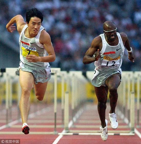 2004年9月23日,本年度国际田联全明星赛在日本横滨落下帷幕。奥运冠军刘翔在110米栏对决中跑出13秒31,击败老冤家阿兰·约翰逊再次夺冠。