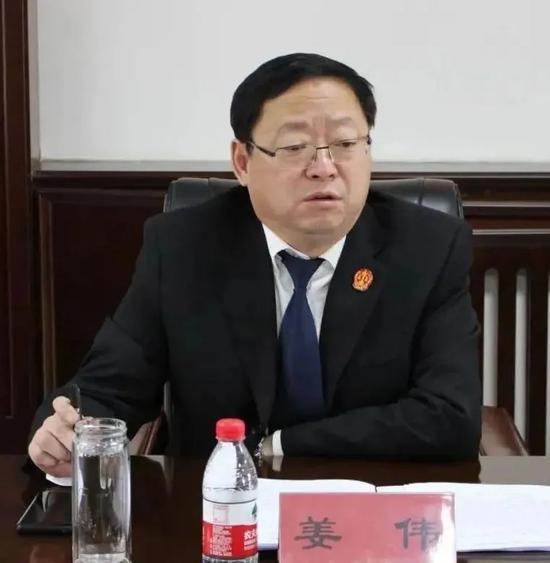 黑龙江铁力市人民法院原院长姜伟严重违纪违法被开除党籍和公职图片