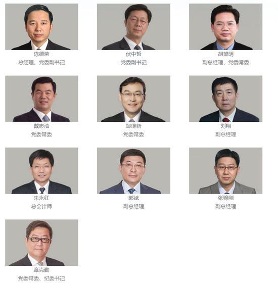 △宝武集团官网的管理团队介绍