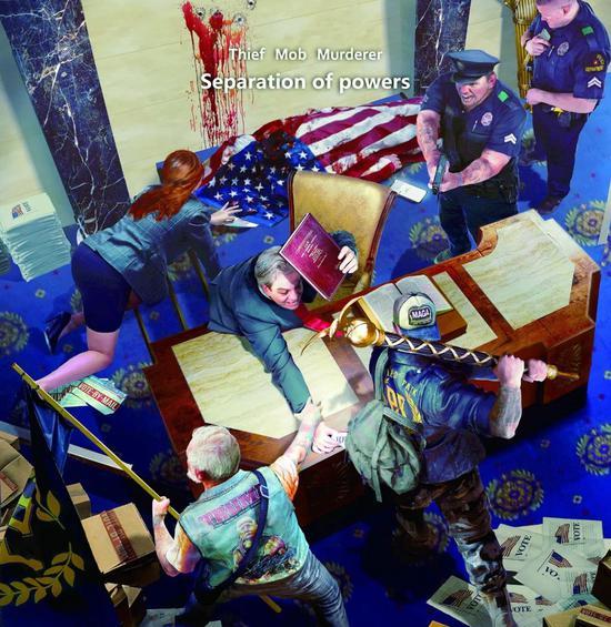 驰名双标!美式民主遮羞布被撕了个干干净净