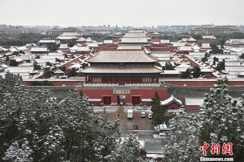 雪后的紫禁城。金硕 摄