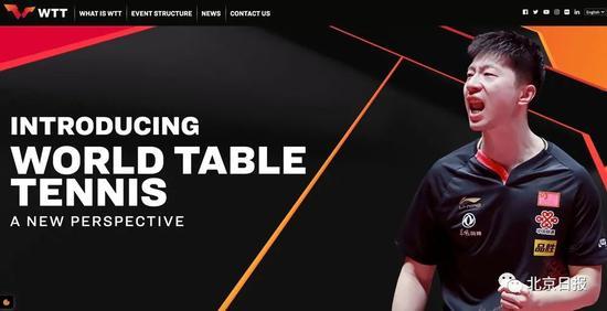 WTT网站首页