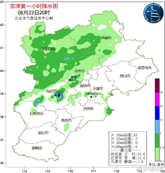 北京夜雨践约所致 这里下得最大(图)