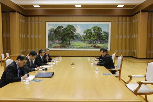 朝鲜最高领导人金正恩会见王毅韩国现代新酷派