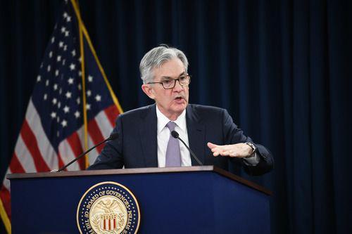 1月29日,在美国首都华盛顿,美国联邦储备委员会主席鲍威尔在新闻发布会上讲话。新华社记者 刘杰 摄