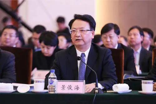 三年三次职务调剂,中候补景俊海任吉林省委布告(图1)