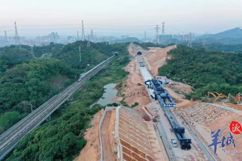 2小时从赣州到深圳!赣深高铁明年通车图片