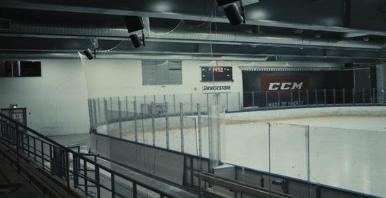 芬兰曲棍球竞技场。