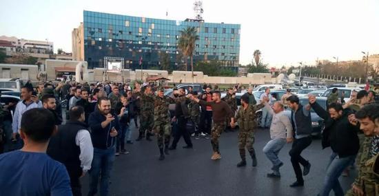 遭受打击后的大马士革